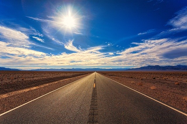 Landevej - Californien