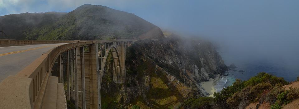 Bixby bridge i Californien