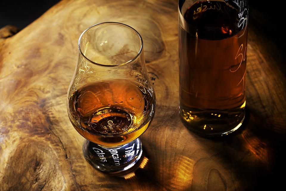 Alkohol i glas