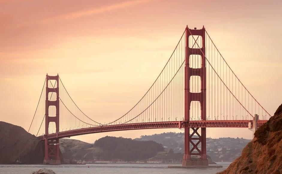 Golden Gate Bridge, California, broer, San Francisco